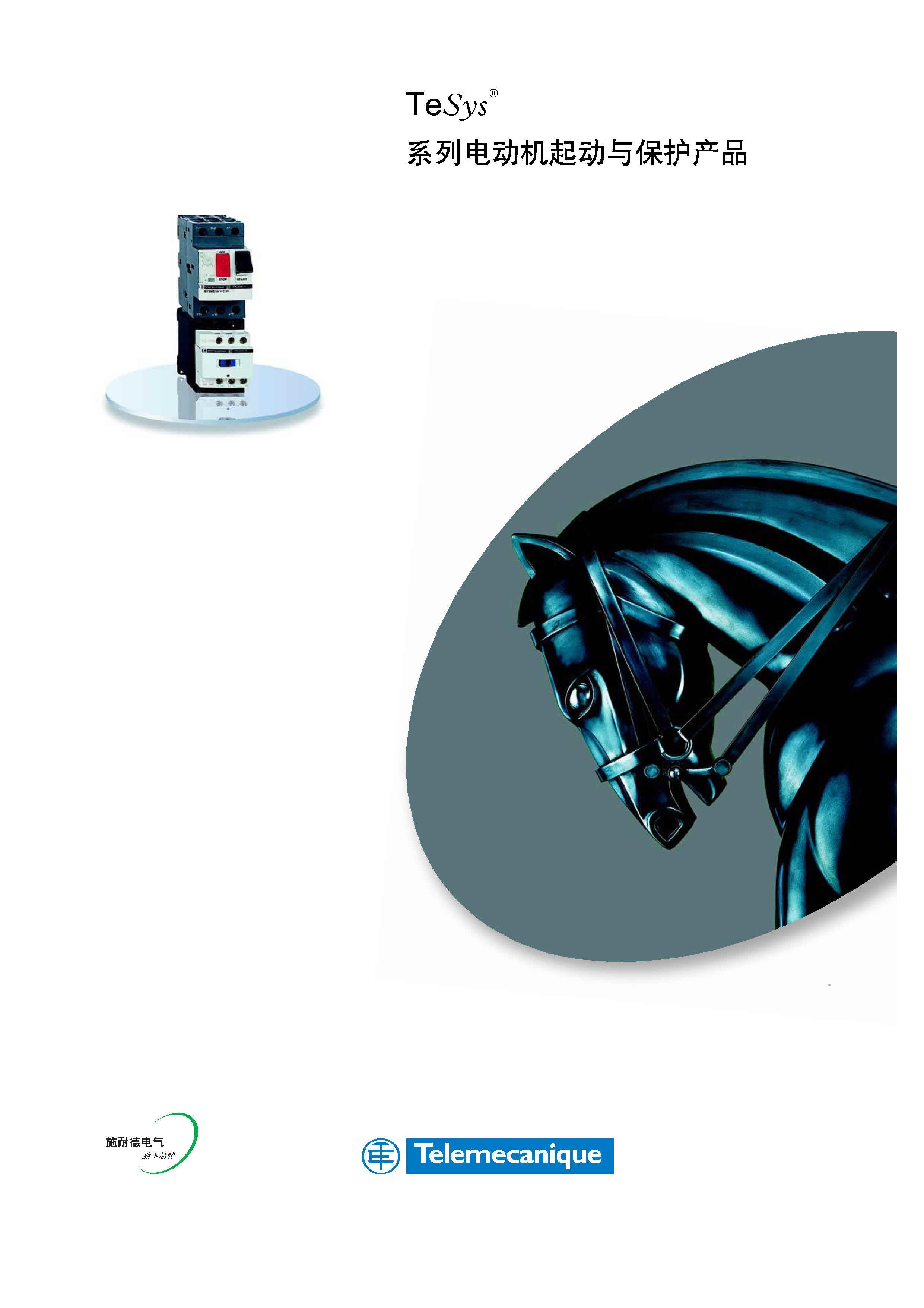 施耐德TeSys D系列接触器、电动机起动与保护产品样本